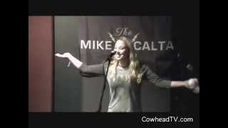 Carmin's Juggling Beat Down on the Mike Calta Show