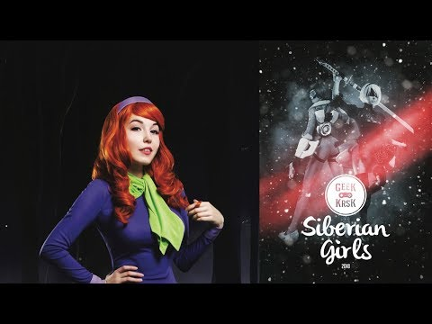 "Siberian Girls by Geek KRSK 2018 - Daphne Blake ""Scooby Doo"" cosplay backstage"