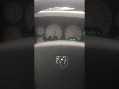 2008 Dodge Ram Cluster Gauge Problem *fixed*