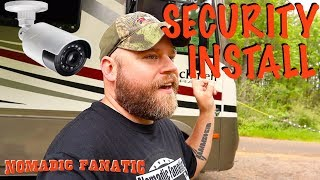 Installing 8 Camera Mobile Security System on RV
