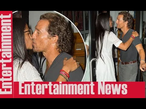 Camila Alves Shares A Smooch With Matthew McConaughey  || Scandals
