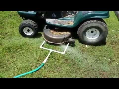 Improved Mower Deck Cleaner