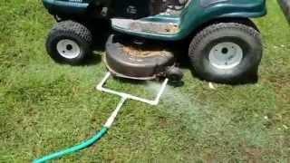 Improved Mower Deck Cleaner
