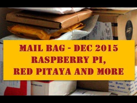 What's New Raspberry PI, Red Pitaya, PiFace Digital and More - Dec 2015