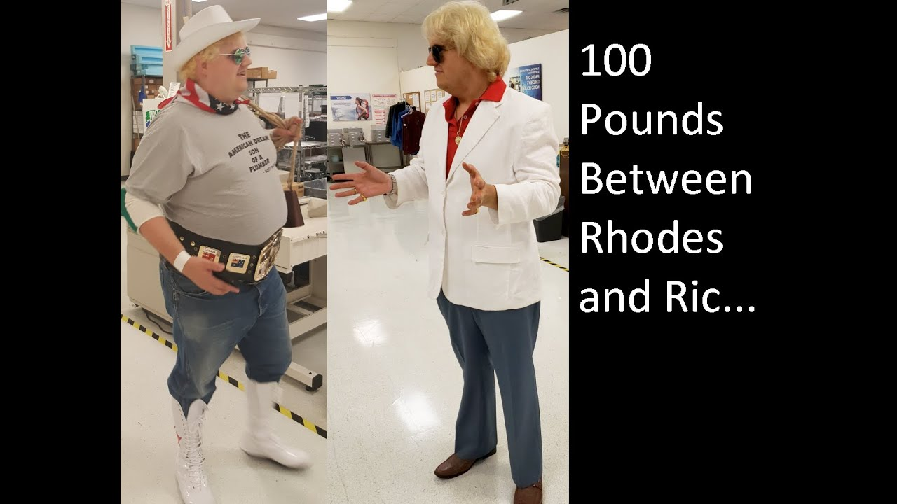 From Dusty Rhodes to Ric Flair, A Weight Loss Transformation in Ring  Entrance Form