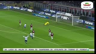 Milan - Spal sky Sintesi italiano 29/12/2018 Serie A