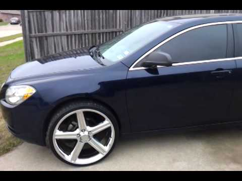 Malibu On 22 S Irocs Youtube