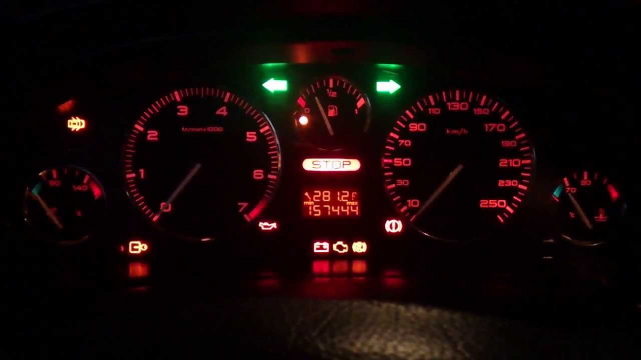 Peugeot 406 Dashboard Test Pp2000 Peugeotteam Com Youtube