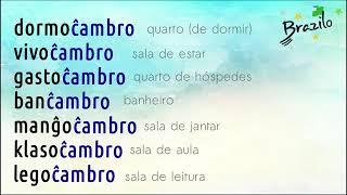 ĈAMBRO substantivo em Esperanto