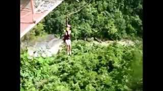 picturesque the plunge at danao adventure park bohol