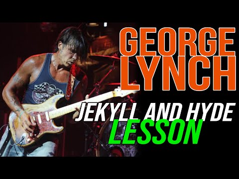 Lynch Mob Jekyll & Hyde Rhythm Lesson, George Lynch - Lynch Lycks S4 Lyck 38