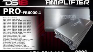 ds18 pro fr6000 1d amp