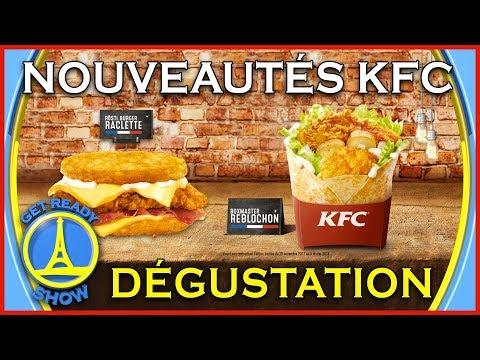 DEGUSTATION KFC : BURGER À LA RACLETTE  ? – GET READY SHOW #48