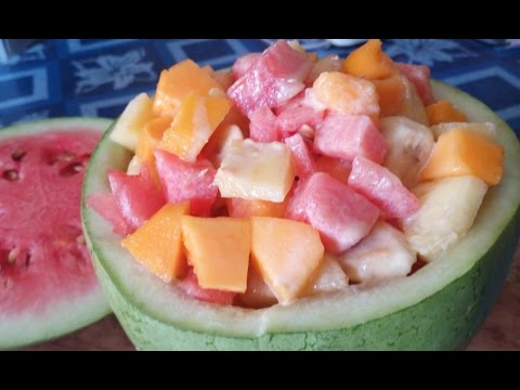 Healthy Fresh Fruit Salad Recipe: How to make Fresh Fruit Salad