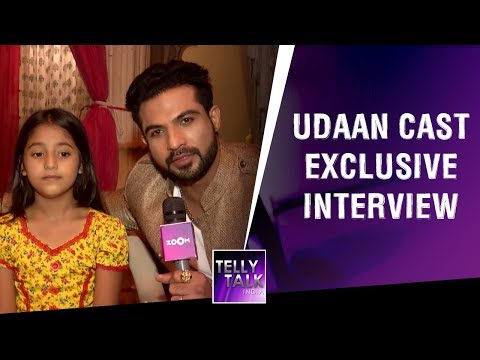 Samriddhi Yadav AKA Anjor & Mohammad Nazim From Sets Of 'Udaan' | Exclusive