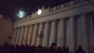 Световое шоу на Думской площади 2