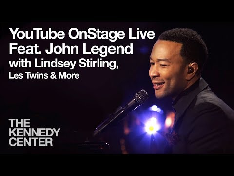 YouTube OnStage Live from The Kennedy Center featuring John Legend, Lindsey Stirling, more...