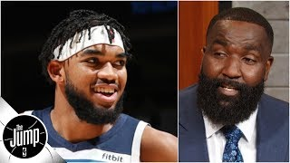 Kendrick Perkins Isn't Just Sleeping On The Wolves, He's 'sleeping With The A/c On 60' | The Jump