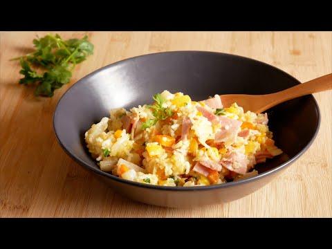 riz-au-jambon-et-légumes-🥕🥬🌶️🍚