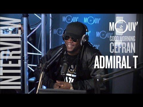 """ADMIRAL T : """"Je suis le premier artiste caribéen à faire Bercy en solo"""" #MORNINGCEFRAN"""