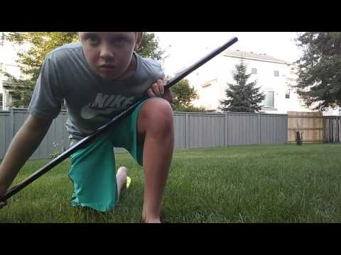 Hockey stick spin