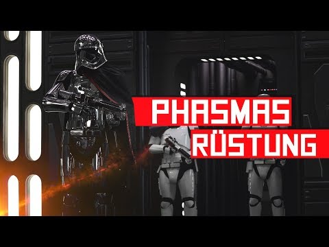 Wie Captain Phasma ihre Chromrüstung bekommen hat | Fobix