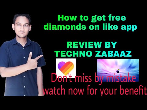 How to get free diamonds on like app |REVIEW