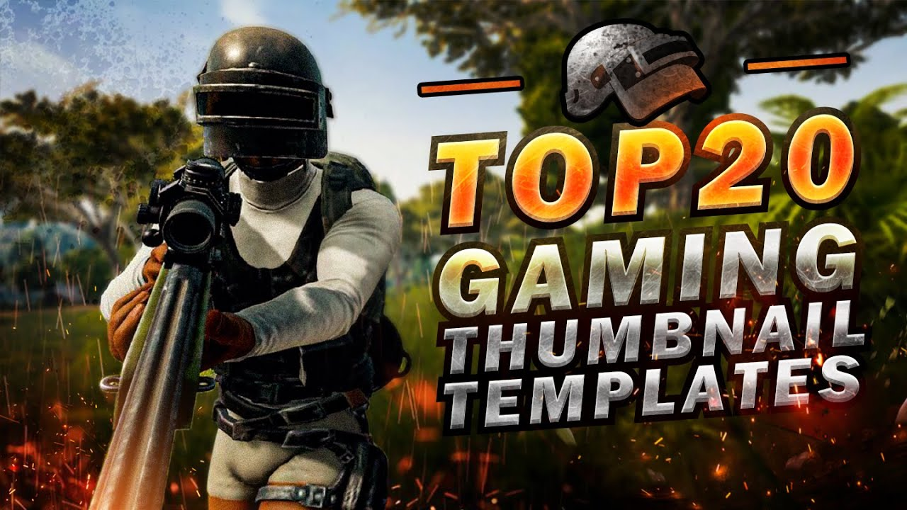 【FREE VIP Giving Away】TOP 20 Gaming Thumbnail Templates by Thumbnail Maker  Year 2019 for IOS&Andriod