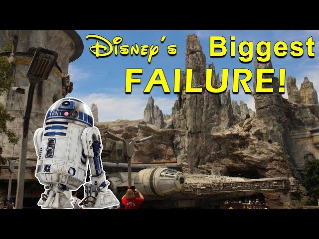 Star Wars: Galaxy's Edge is A Failure and Here's Why!