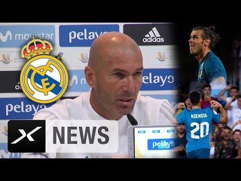 Zinedine Zidane über Gareth Bale, Marco Asensio und die Kaderplanung | Real Madrid