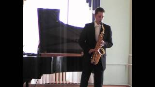 Zimin Nikita - Glazunov-Lauba, Concert for Alto Saxophone.