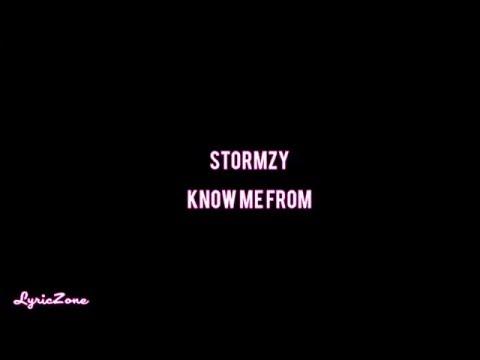 STORMZY - Know Me From (Lyrics)