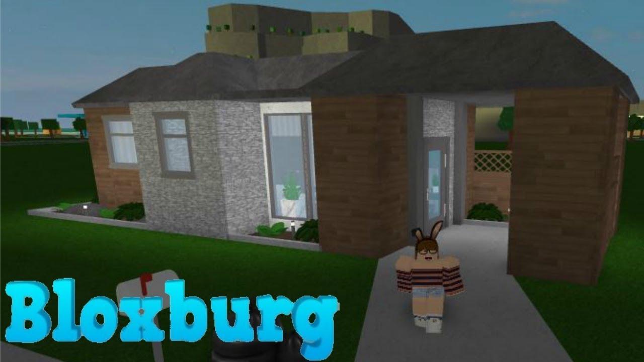 Bloxburg: Aesthetic Starter House Build 10K