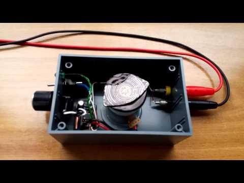 Homemade magnetic stirrer + Motor driver PCB