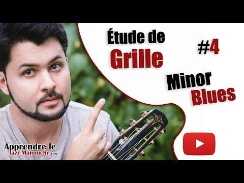 Chord chart study #4 - Minor Blues (Django Reinhardt) - Learning Gypsy Jazz