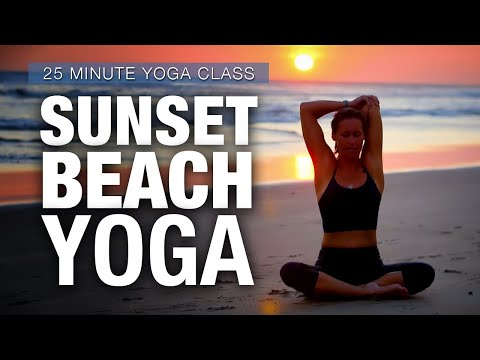 Sunset Yoga Class from Nicaragua - Five Parks Yoga