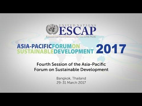 APFSD4: Mayor's Panel on Localizing the SDGs