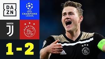 Matthijs de Ligt sorgt für Sensation: Juventus Turin - Ajax Amsterdam 1:2 | Champions League | DAZN