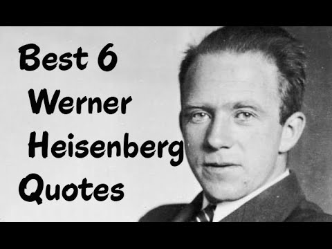 An introduction to the life of werner heisenberg