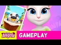Talking Angela Plays My Talking Hank (Gameplay)
