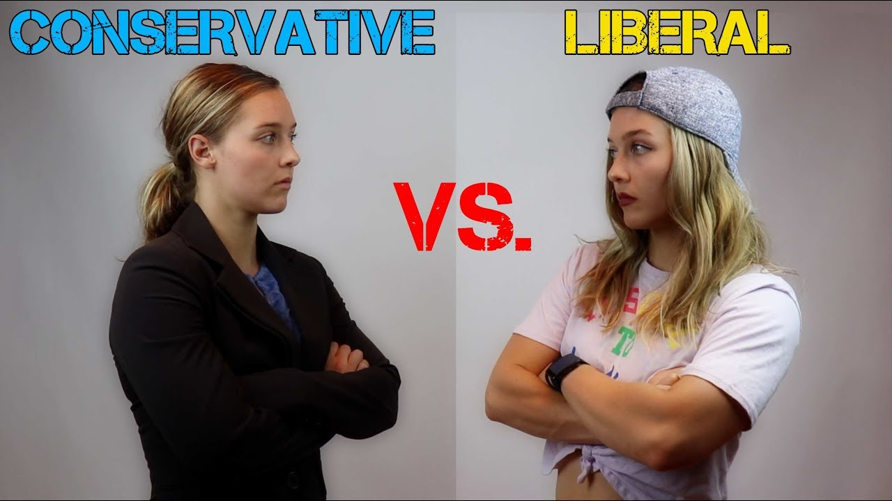 LIBERAL VS. CONSERVATIVE - YouTube