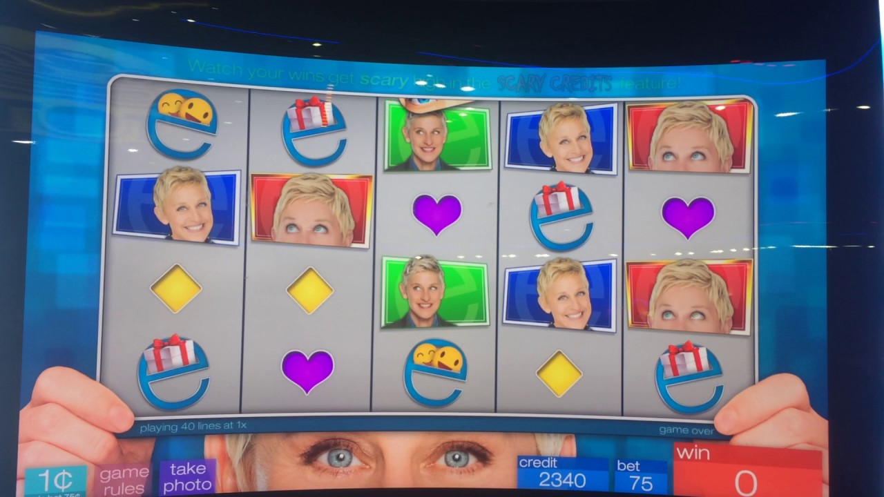 Ellen sharing the love slot machine free igt slots to play online