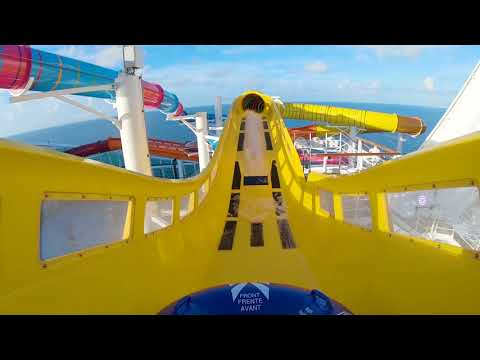 Navigator Of The Seas' Perfect Storm Waterslides