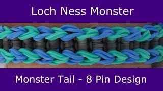 Monster Tail® Loch Ness Monster Bracelet by Rainbow Loom