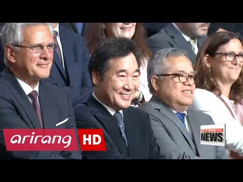 Ministers and senior officials from Asia and Europe talk about economy at the 7th ASEM ...
