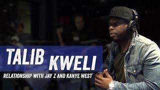 Talib Kweli - Jay Z and Kanye Relationship - Jim Norton and Sam Roberts Show