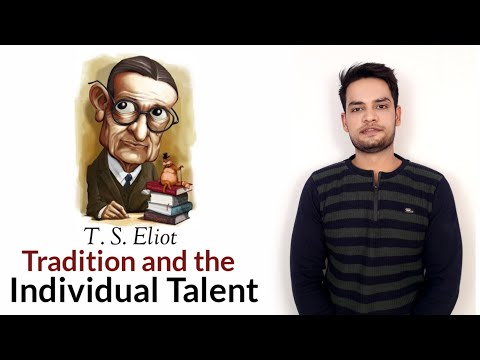Tradition and the Individual Talent T. S. Eliot in Hindi