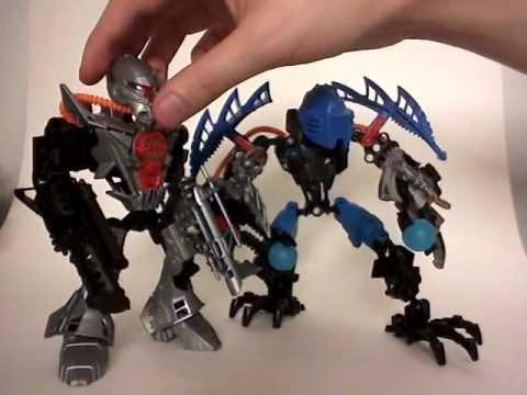 Hero Factory Video Review: Bulk & Vapour (2010) [English]