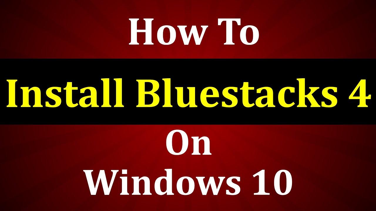 bluestacks download for windows 10