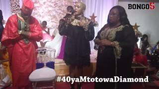 40 ya mtoto wa Diamond:  Wolper asababisha Diamond kupewa zawadi yenye  thamani ya tsh milioni 200